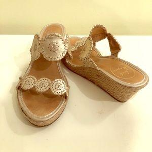 Jack Rogers Wedge Sandals